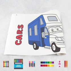 Drawing roll Cars
