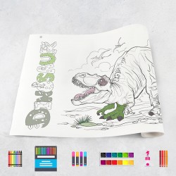 Drawing roll Dinosaurs 1