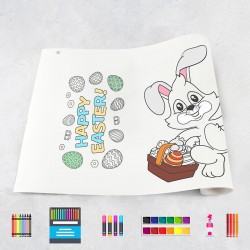 Drawing roll Easter
