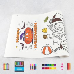 Drawing roll Halloween