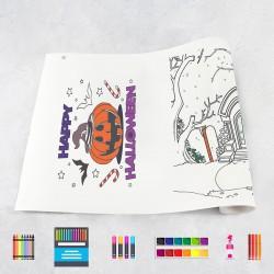 Drawing roll Halloween 1