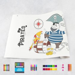 Drawing roll Pirates