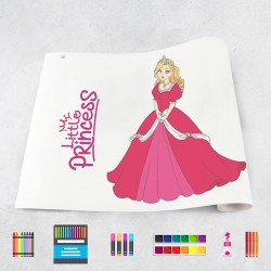 Drawing roll Princesses