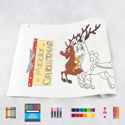 Drawing roll Christmas