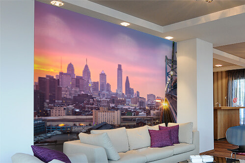 Self-adhesive wall murals Philadelphia