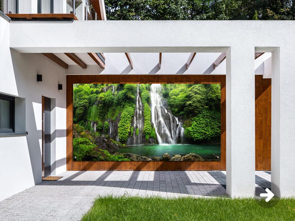 Gardenposter Waterfall