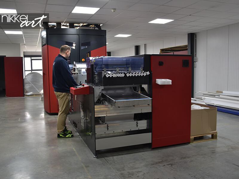 Photo wallpaper printer