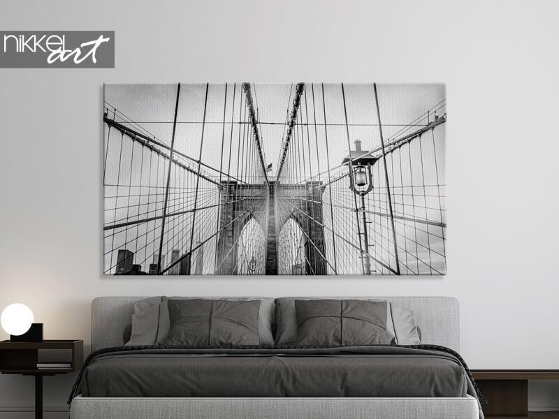 Canvas prints Brooklyn Bridge in New York