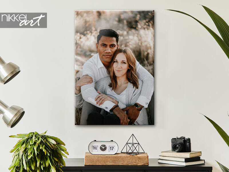 Your photo on canvas print