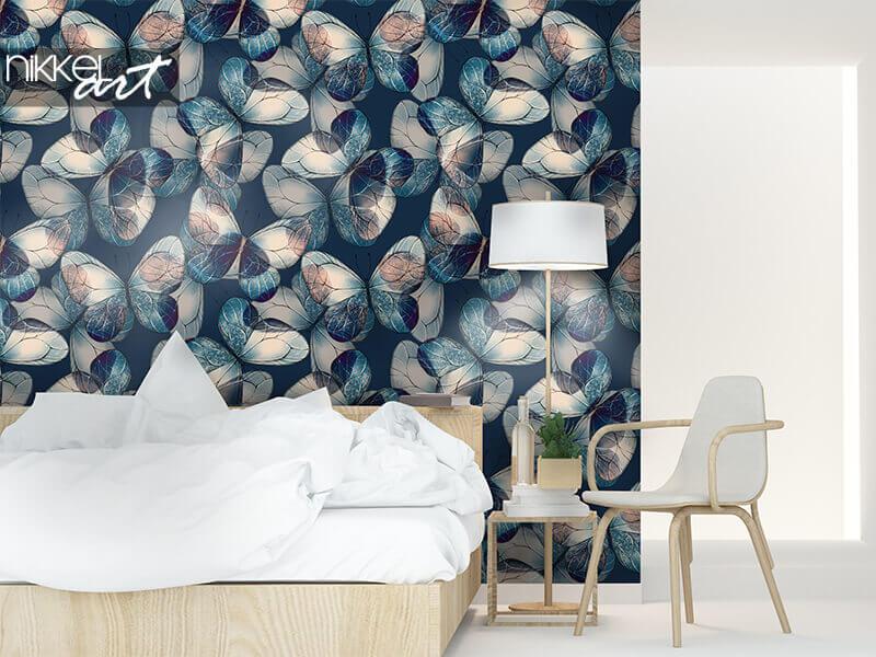 Wallpapers Pattern of butterflies