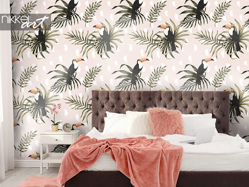 Wallpapers Tropical vintage exotic bird toucan