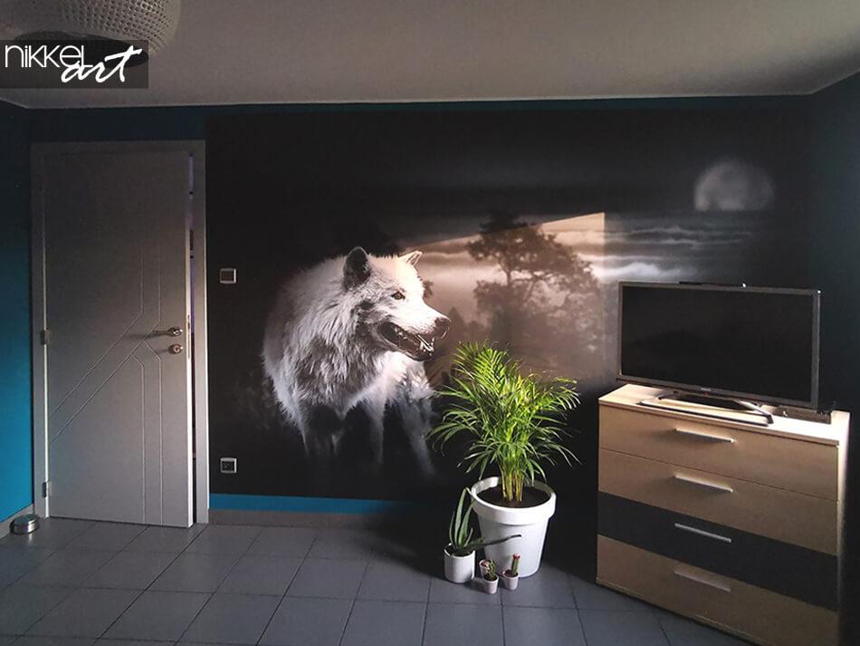 Wall Murals wolf
