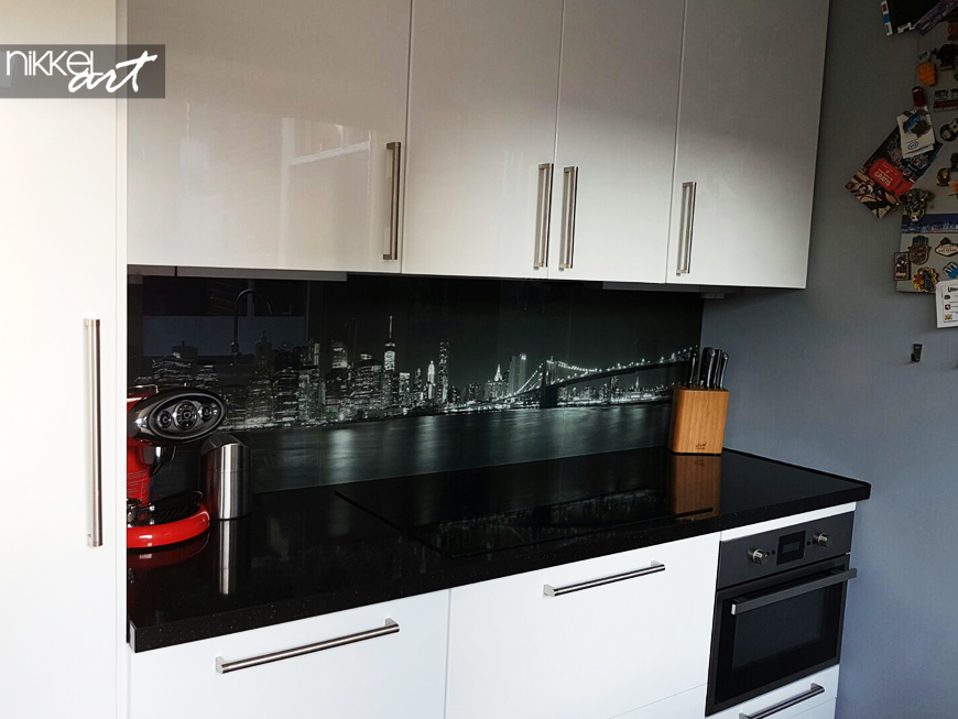 Printed kitchen splashbacks New York