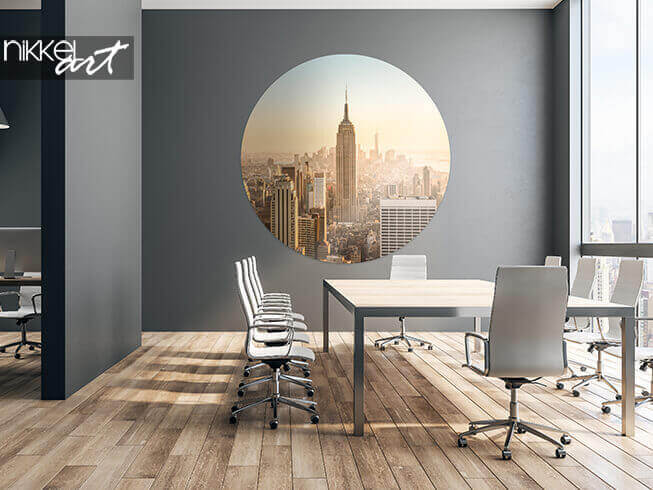 Self-adhesive photo wall murals New York