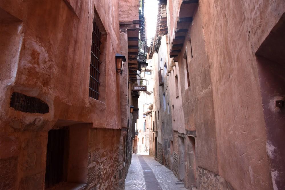 A small street in Albarracin
