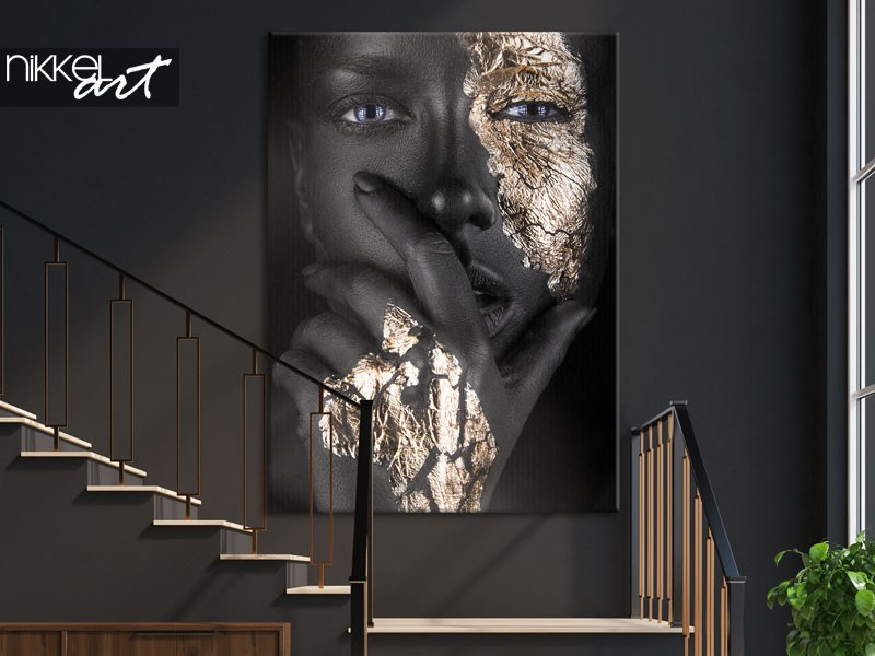 Order a large sized photo on canvas