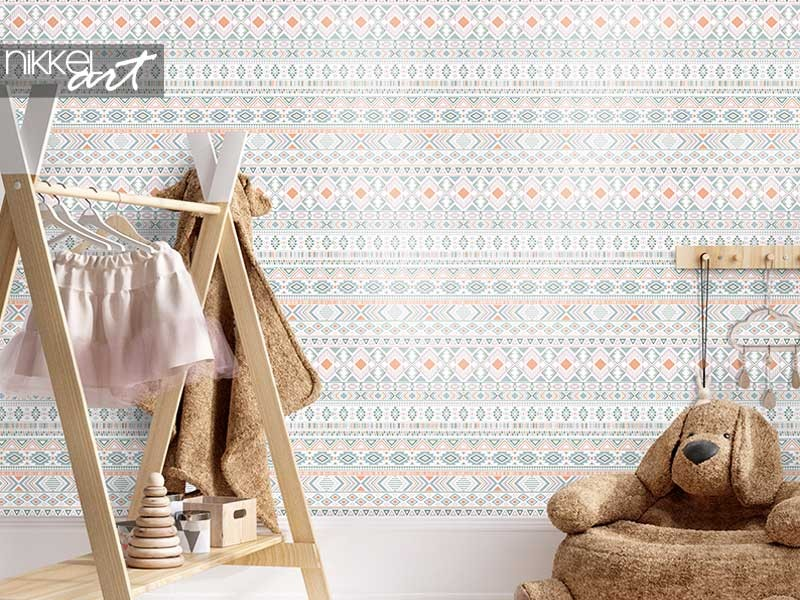 Decorating inspo: ethnic wallpapers