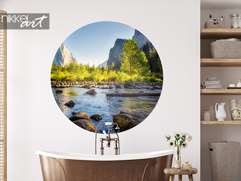 This is the difference between self-adhesive and non-woven wall murals