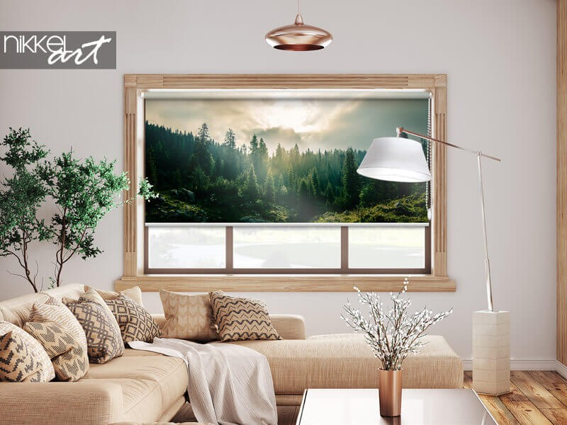 Printed roller blinds for any interior