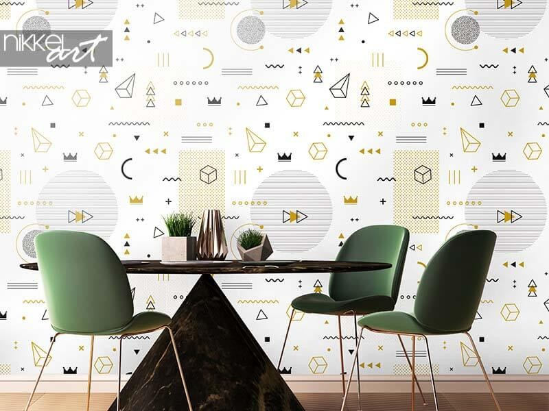1980 or 2021? Memphis wallpaper is making its comeback