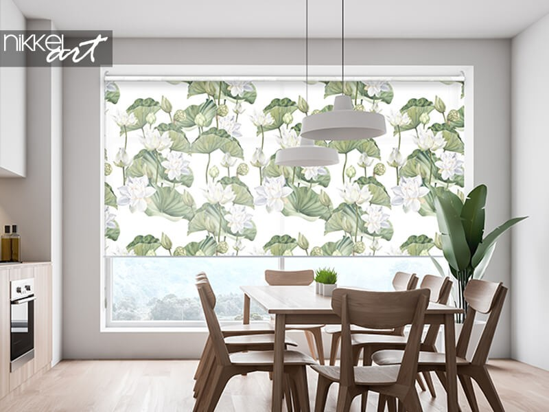 Living in style? Choose printed roller blinds