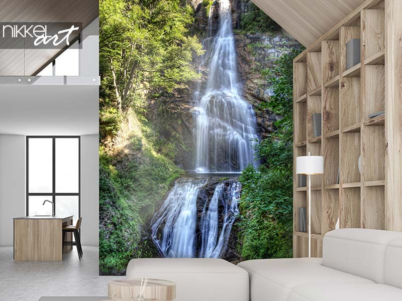 7 deco ideas with waterfalls