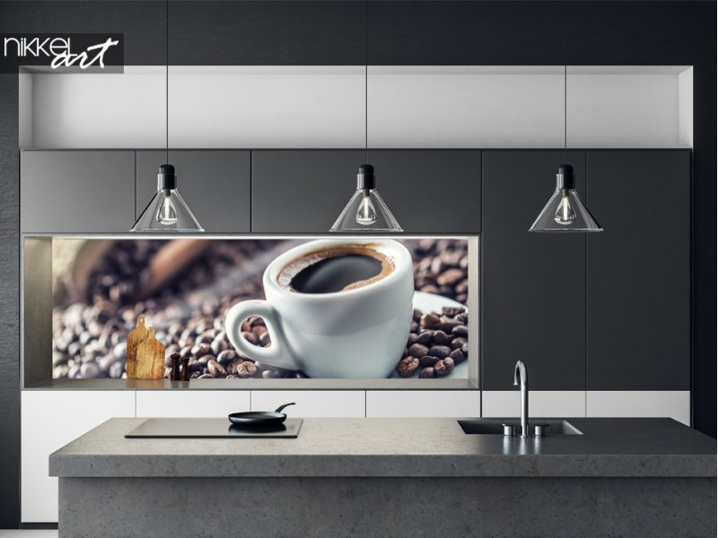 Kitchen Splash Back Coffee Beans