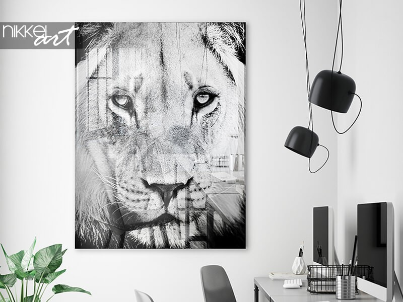 Exclusive art: a black and white acrylic prints