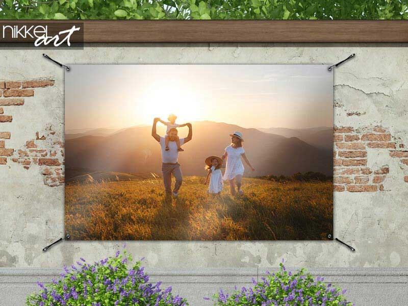 Order a garden poster with your own photo