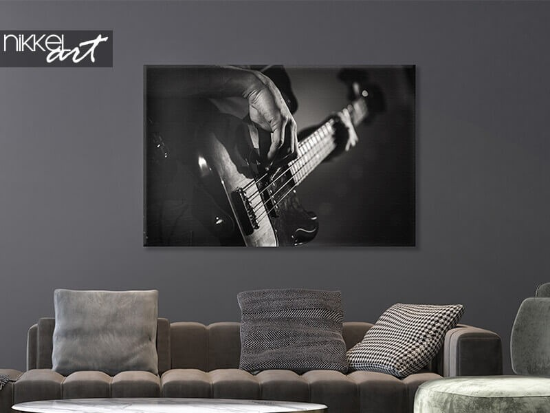 Print your best photo on canvas 120 x 80 cm