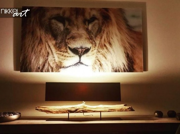 Acrylic Print Lion