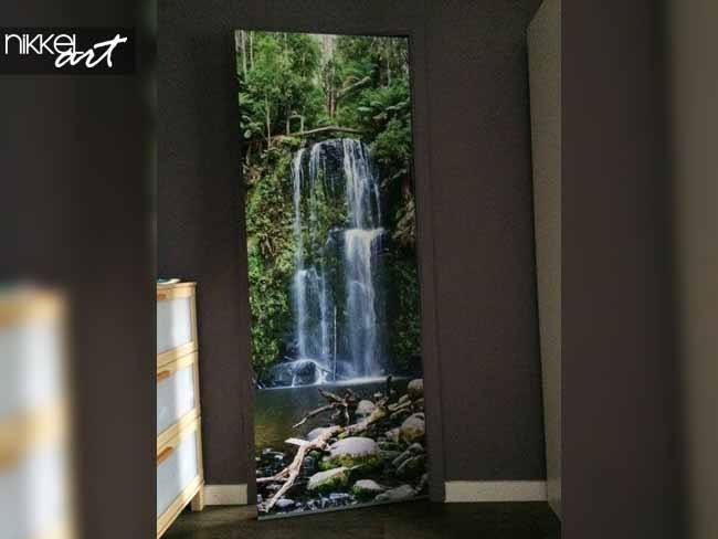 Door stickers Waterfalls