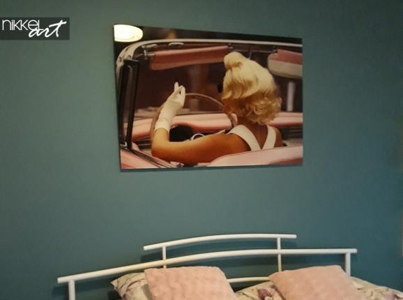 Acrylic Print Marilyn Monroe