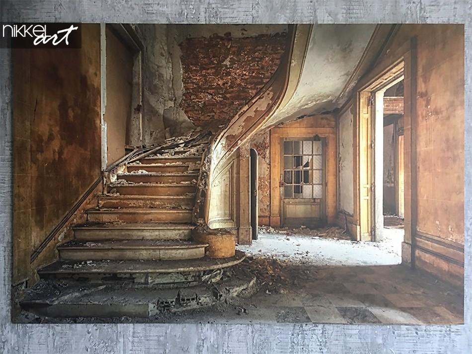 Photo on Aluminum Stone Stairs