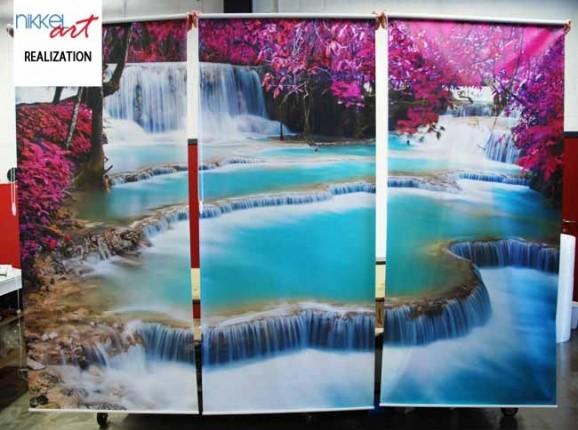 Custom Blinds Waterfalls