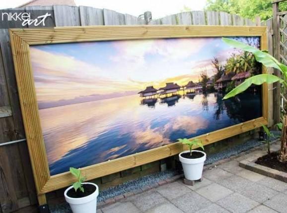 Garden Poster Sea