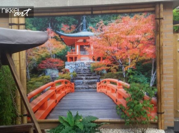 Garden Posters Kyoto