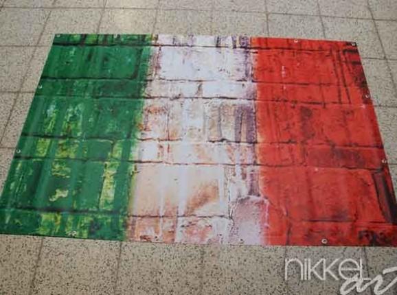 Photo of Garden Poster Italian flag