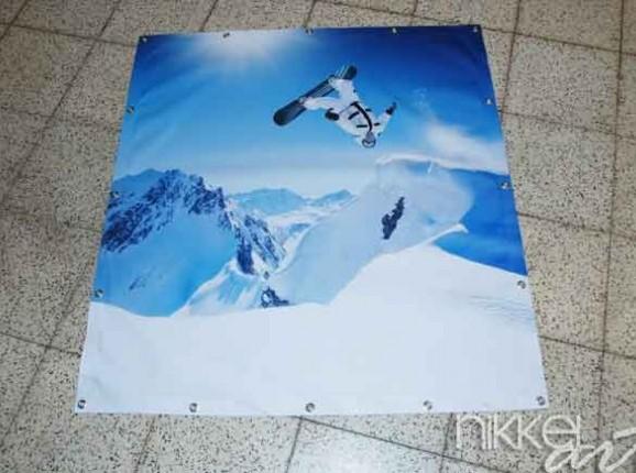 Photo of Garden Poster Winter sports
