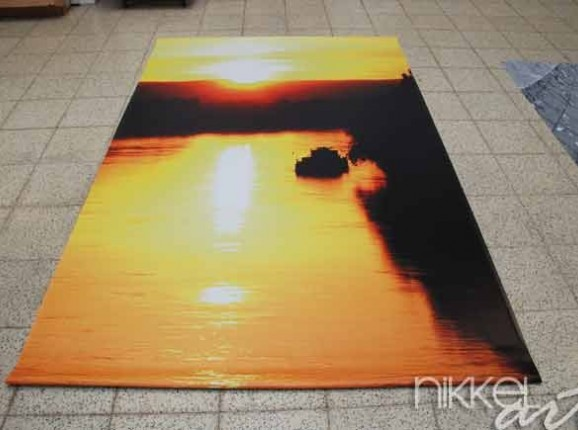 Photo of Garden Posters Sunset
