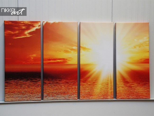 Photo on Canvas Sunset
