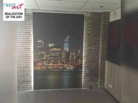 Photo roller blinds New York