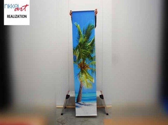 Photo roller blinds Tropical beach