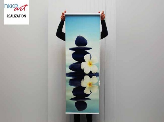 Photo roller blinds Zen