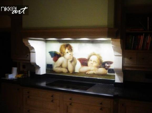 Printed kitchen splashbacks