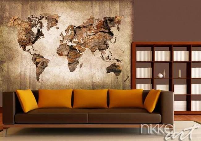 Wall Murals World Map