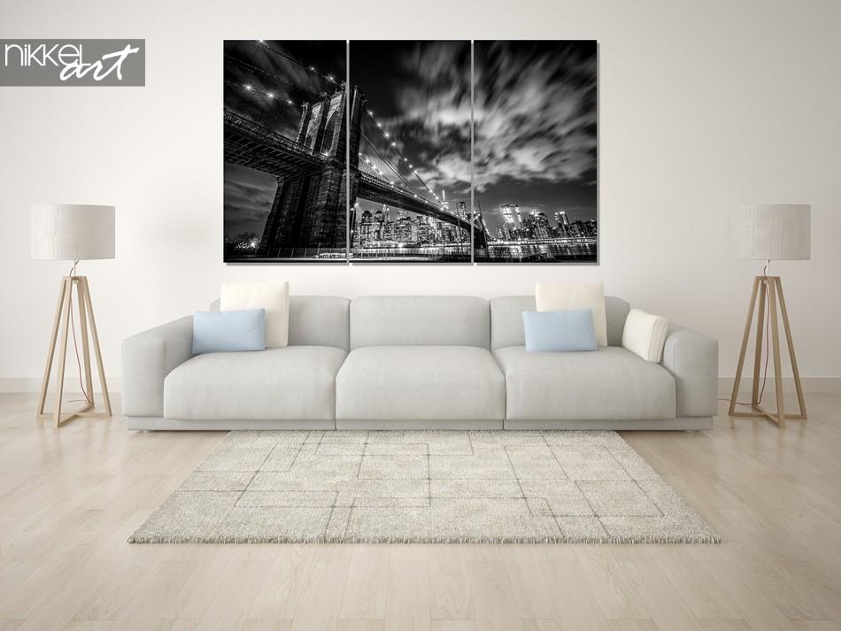 Acrylic prints New York black white