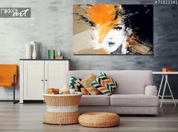Acrylic Prints Woman portrait
