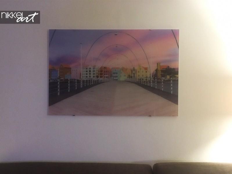 Paintings on glass Bridges