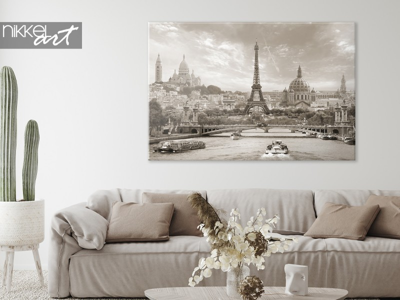 Paris on a canvas